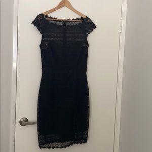 Alannah Hill Black Lace cocktail Dress size 12